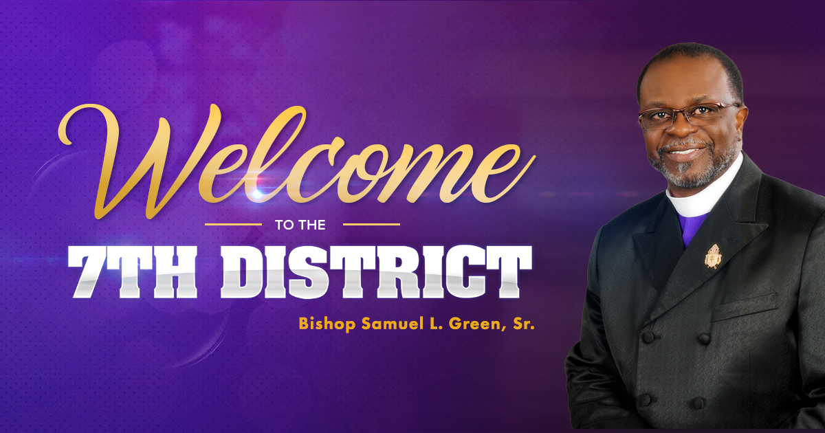 Nice 7th Episcopal District Ame Church #1: Fb-welcomesocial.jpg